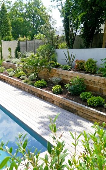 Terrasse, clôtures, abris